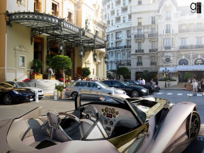 Inside view of the Bugatti 12.4, Atlantique Grand Sport