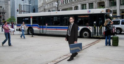 commute-case can be used like a standard briefcase when not in use.