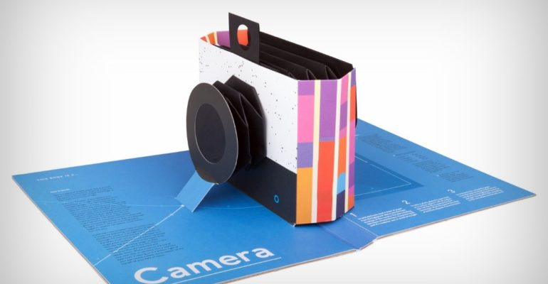 This Book Is Literally A Camera!