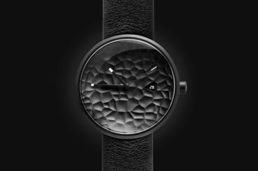 This Textured Watch-Face Breaks The Monotony Of Minimalist Watch Design