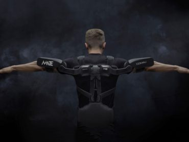 The Mate Is A Purely Mechanical Exoskeleton That Augments Human Strength