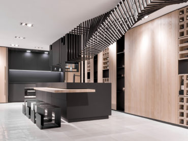 A Cutting-Edge Kitchen