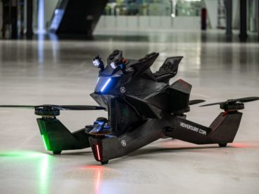 The HoverSurf S3 Is A Massive Drone You Can Sit On!