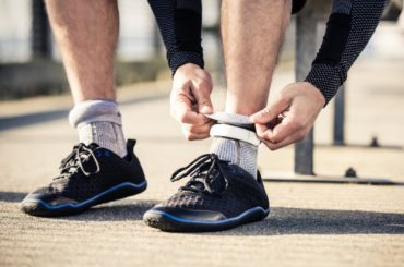 Fitness-Tracking Foot-Fabric!