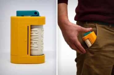 The Skroll Is A Fun, Pocket-Sized Embossing Machine!
