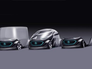 The Mercedes-Benz Vision Urbanetic Explores Modular Mobility