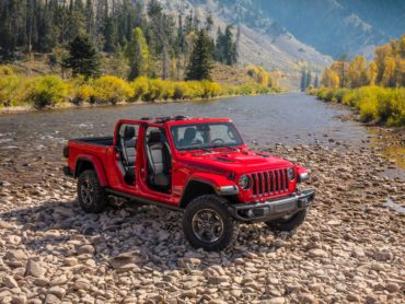 Jeep + Truck = The Gladiator