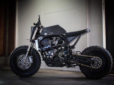 A Mad Max Themed Bike