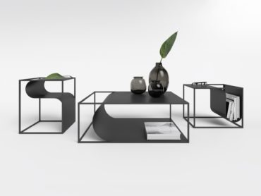 Furniture That Curves Like Paper
