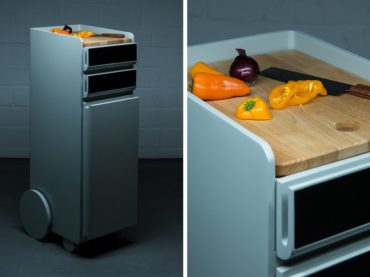 Food Cart To Make Cooking Easy As Pie