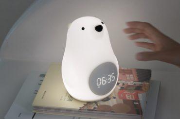 A Bearable Digital Alarm Clock & Mood Light