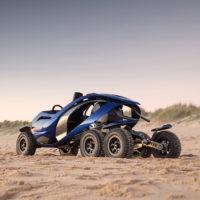 The Six Wheeled Mars Rover