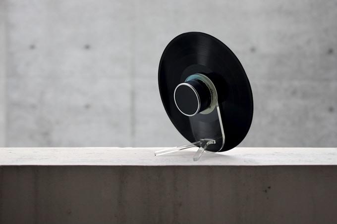 vinyl bluetooth speaker