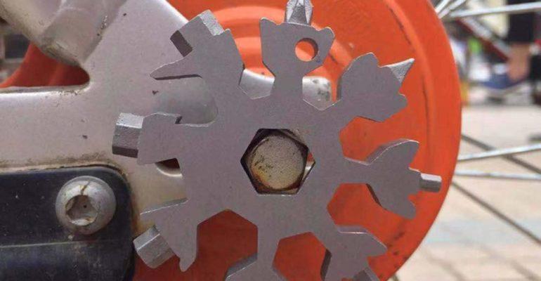 Stainless Steel Snowflake