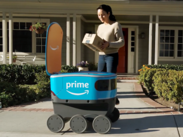 Scout is Your Amazon Package Carrier