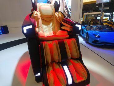 The Lamborghini of Massage Chairs, Literally