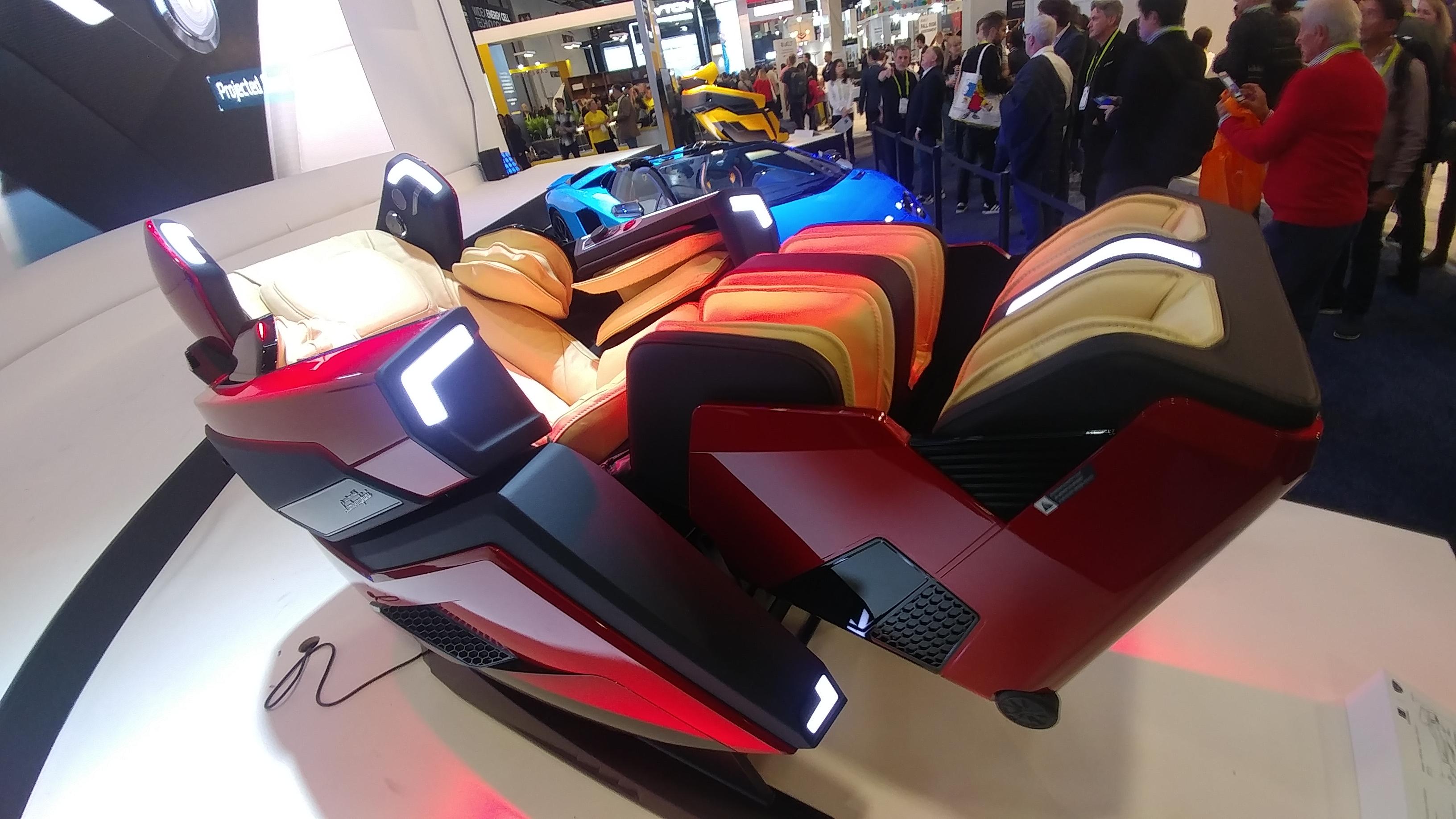 massage chair Lamborghini