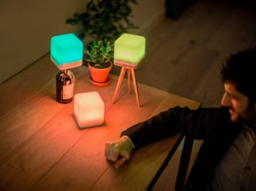 SUSTAINABLE LIGHT THAT CHANGES WITH THE MOOD