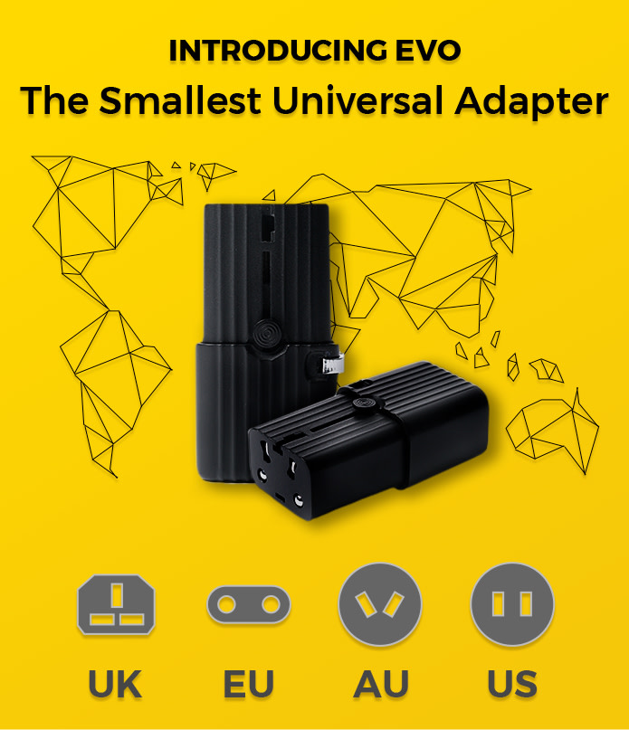 Evo for all your travel charging