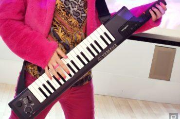 Press-to-Play Keytar from YAMAHA