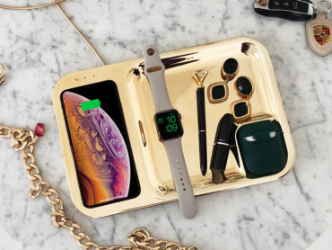 WIRELESS CHARGE EVERYTHING WITH THIS TRAY