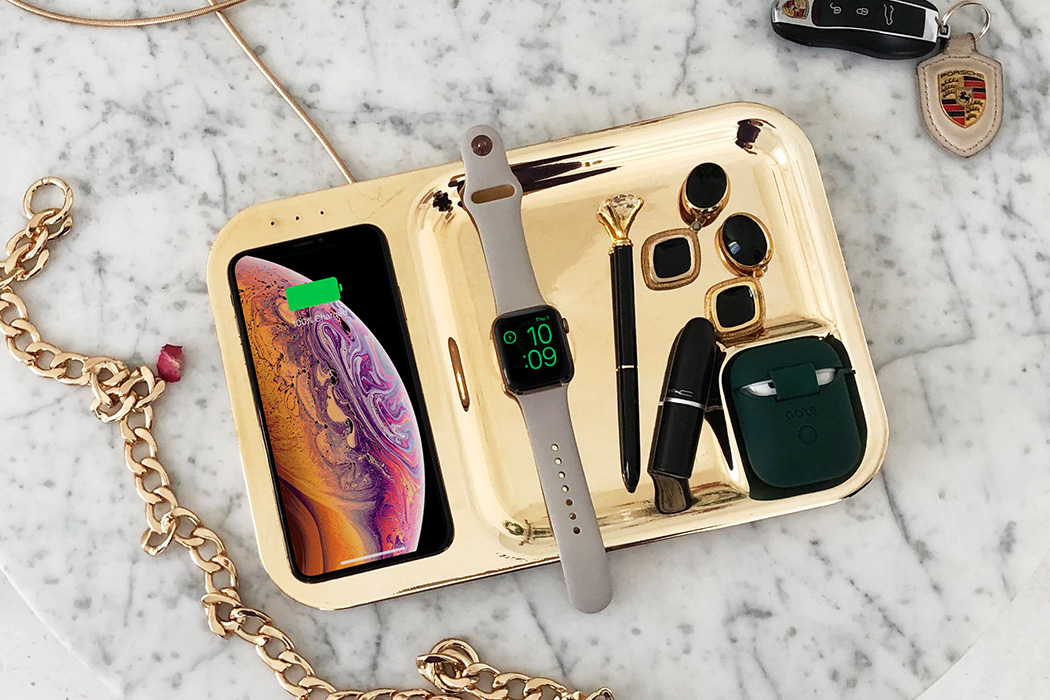 gaze tray for apple devices