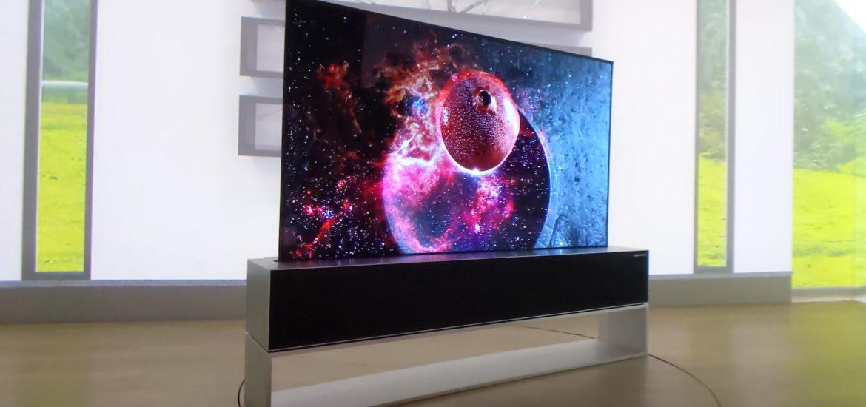 lg rollup tv