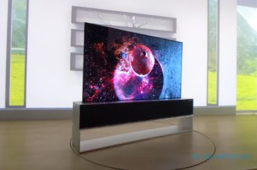 LG's Flexible, Disappearing TV