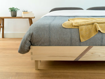 Innovative Bed from Indonesian Wood