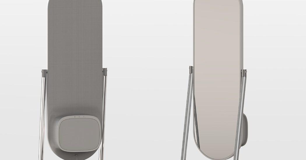 iron board mirror
