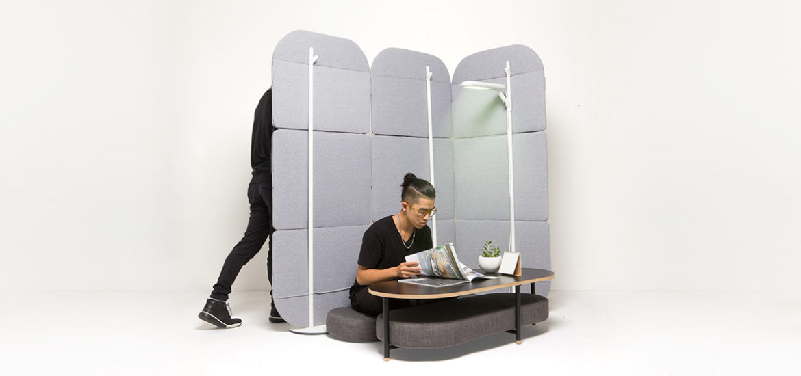 micro space room divider