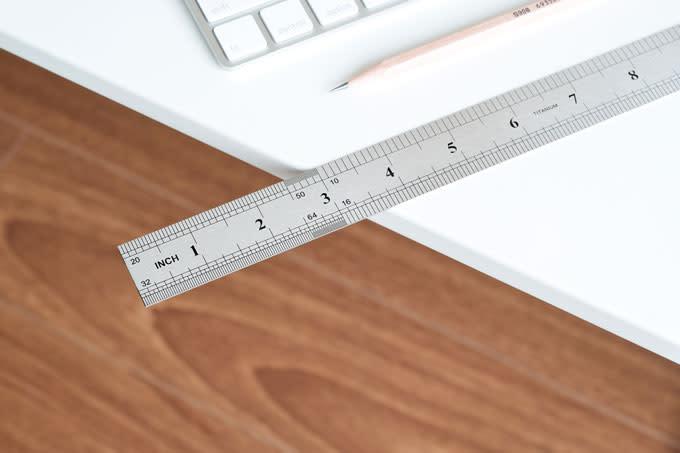 titanium ruler