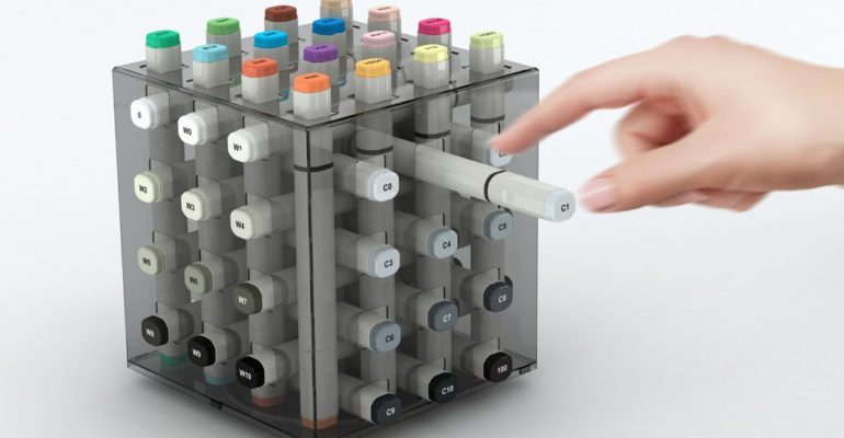 ORGANIZE YOUR MARKERS IN THE MOST ASTOUNDING WAY