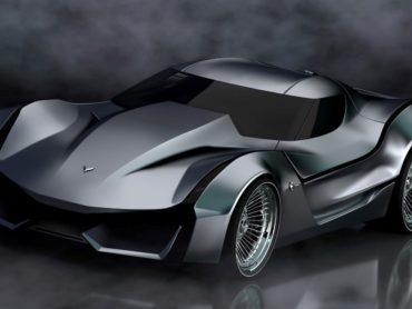 CORVETTE CONCEPT CAR LOOKS LIKE ITS OUT OF A BATMAN MOVIE