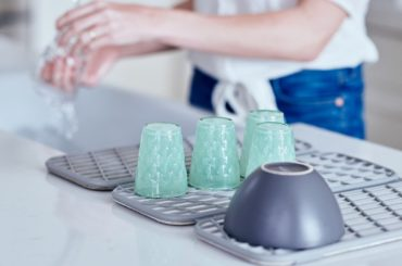 Cool Fast Self-Drying Dish Rack for your Kitchen