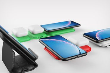 PORTABLE WIRELESS CHARGER THAT FOLDS AND GETS CARRIED AROUND