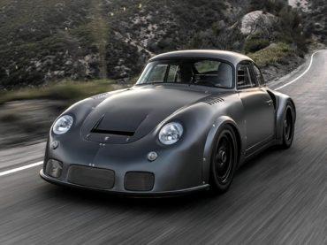 Porsche Super Car Made for Darth Vader