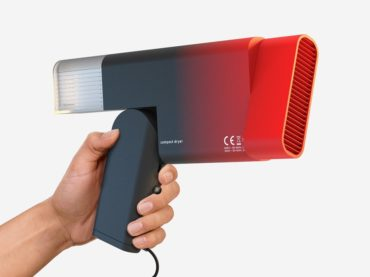 A HAIRDRYER OUT OF A SCI-FI MOVIE