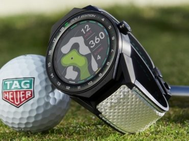 A SMARTWATCH THAT WOULD LET YOU GOLF WITH STYLE