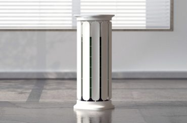 GREEK ARCHITECTURE FORMS A COOL 360 DEGREE AIR PURIFIER