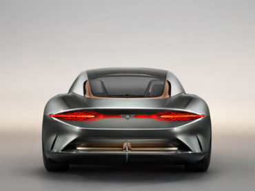 ARTIFICIAL INTELLIGENCE IN THE NEW BENTLEY CONCEPT CAR