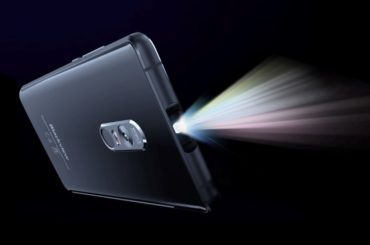 THIS SMARTPHONE IS NOT ONLY A CELL PHONE BUT A PROJECTOR AS WELL
