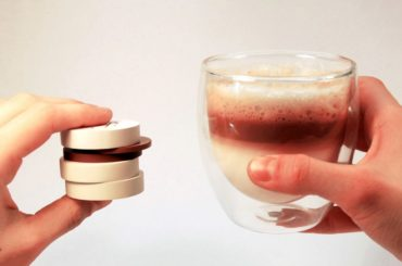 BUILD YOUR COFFEE LIKE ITS A LEGO BUT WITH TABLET PODS