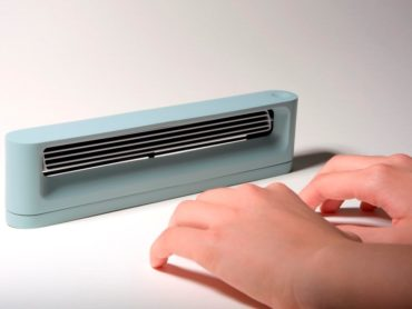 THIS DESKTOP HAND WARMER CAN KEEP YOU COZY WHEN WEATHER IS COLD OUTSIDE