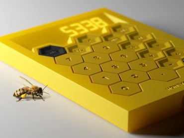 CHECK OUT THIS COOL HONEYCOMB CALCULATOR DESIGN