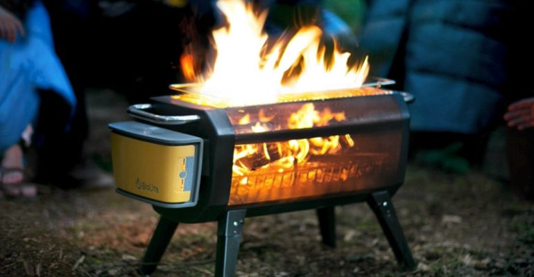 THIS FIRE PIT IS THE BEST SMOKE-FREE BURNER