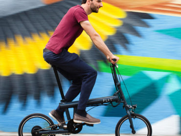 FOLDABLE ELECTRIC BIKE IS ELECTRIFYING