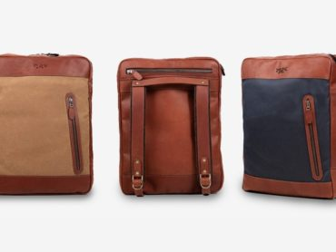 GET THIS LEATHER BACKPACK NOT A SUITCASE