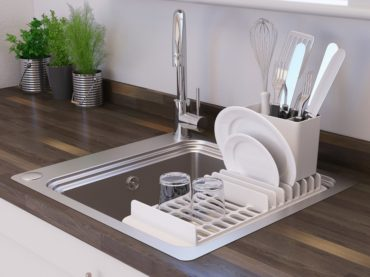 REVAMPING THE KITCHEN SINK RACK