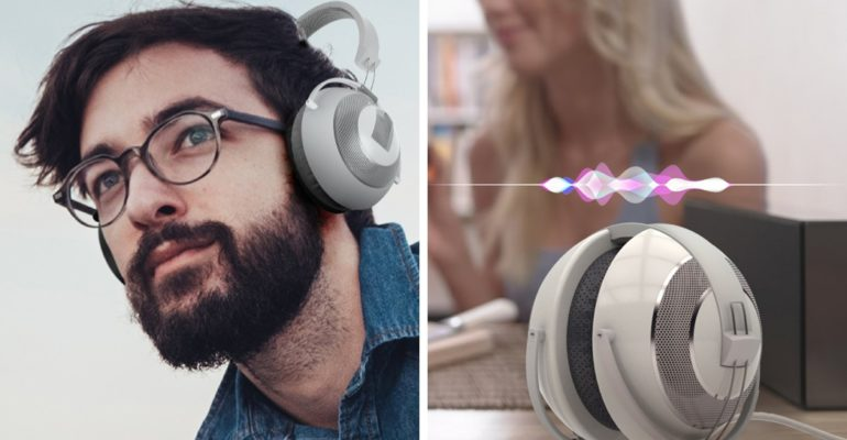 ORIGAMI INSPIRED FOLDABLE HEADPHONES
